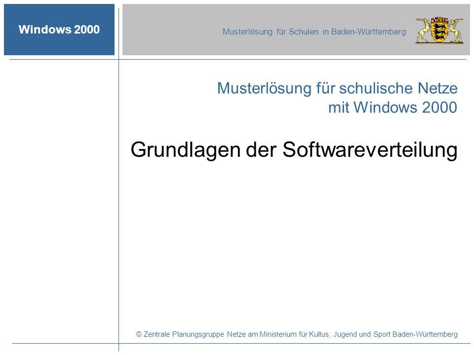 Grundlagen der Softwareverteilung