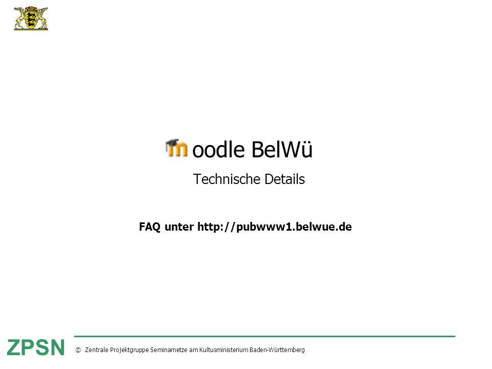 oodle BelWü Technische Details