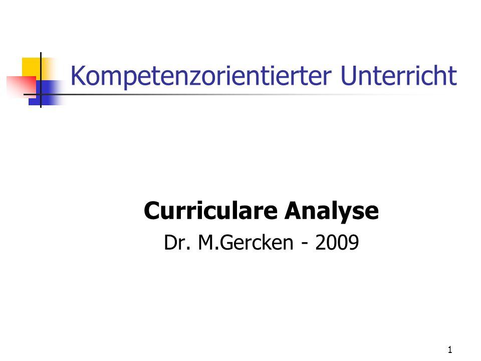 Kompetenzorientierter Unterricht
