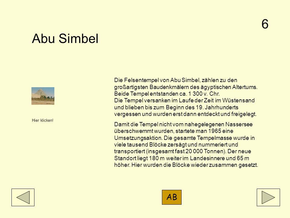 6 Abu Simbel.