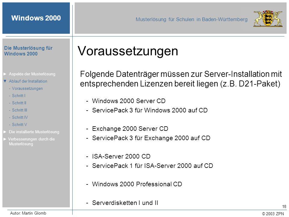 Voraussetzungen Folgende Datenträger müssen zur Server-Installation mit entsprechenden Lizenzen bereit liegen (z.B. D21-Paket)