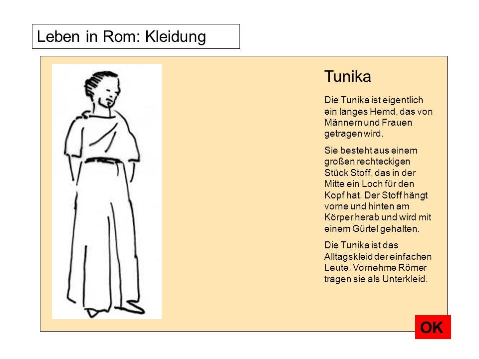 TunikaDie Tunika ist eigentlich ein langes Hemd, das von Männern und Frauen getragen wird.