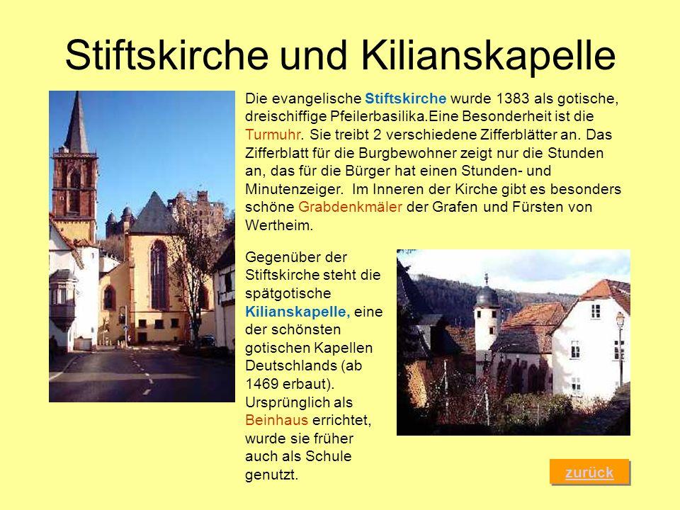 Stiftskirche und Kilianskapelle