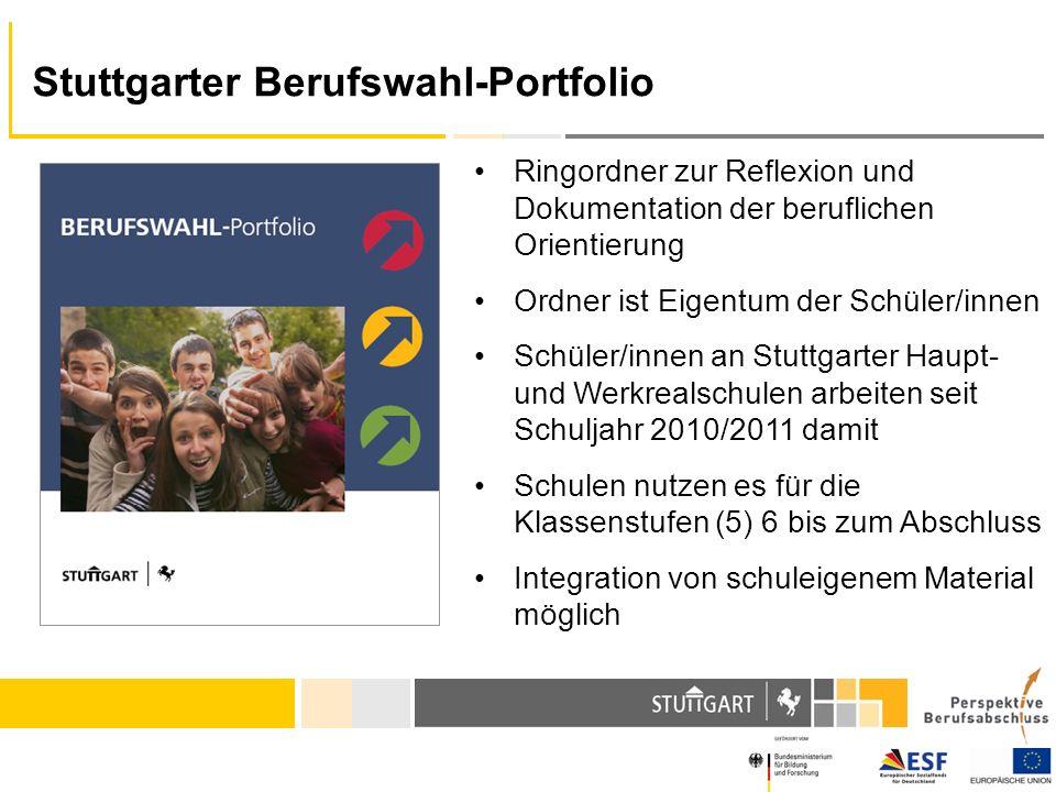Stuttgarter Berufswahl-Portfolio
