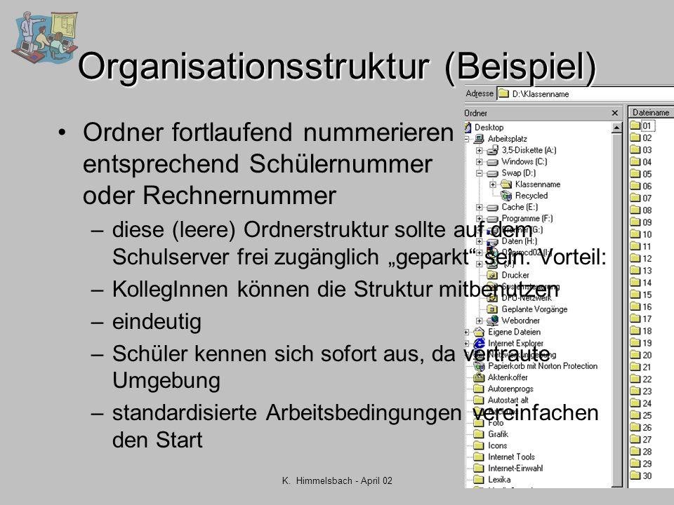 Organisationsstruktur (Beispiel)