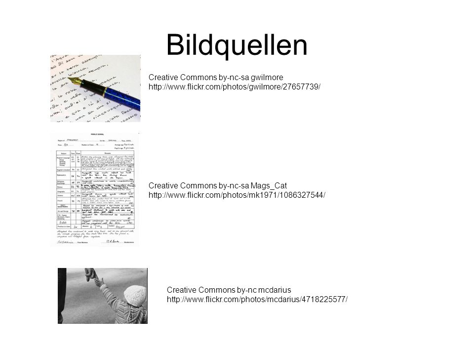 BildquellenCreative Commons by-nc-sa gwilmore http://www.flickr.com/photos/gwilmore/27657739/