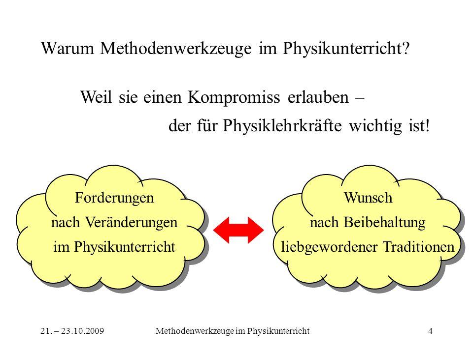 Warum Methodenwerkzeuge im Physikunterricht