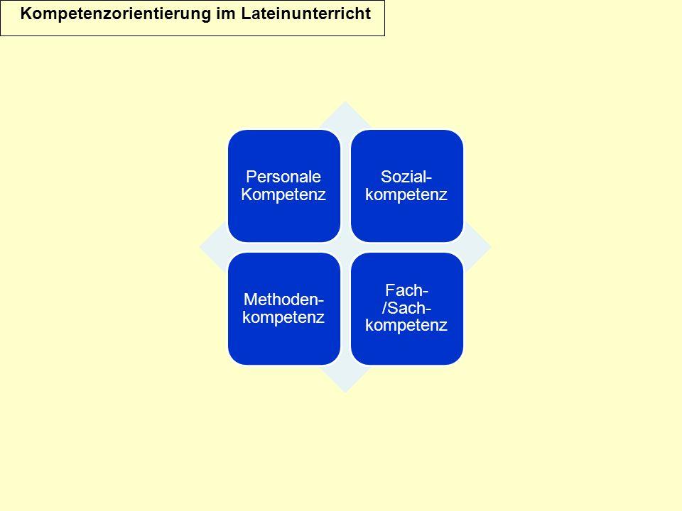 Fach- /Sach-kompetenz