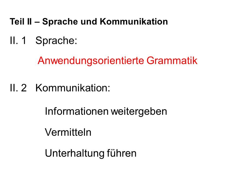 Anwendungsorientierte Grammatik
