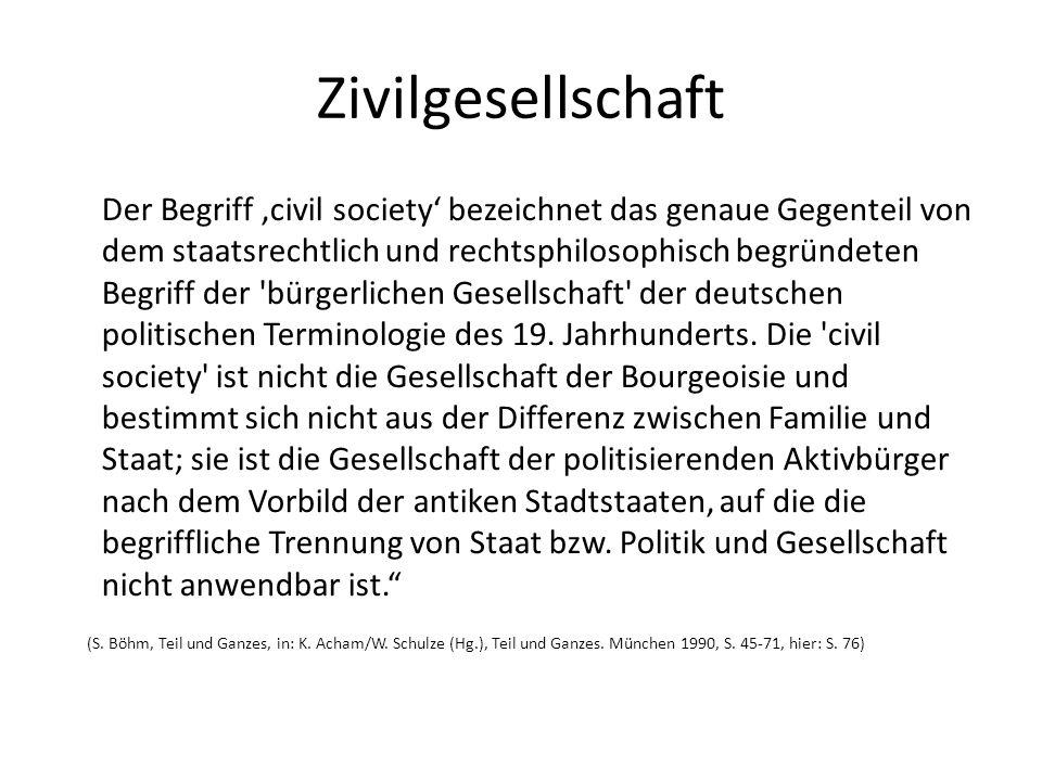 Zivilgesellschaft