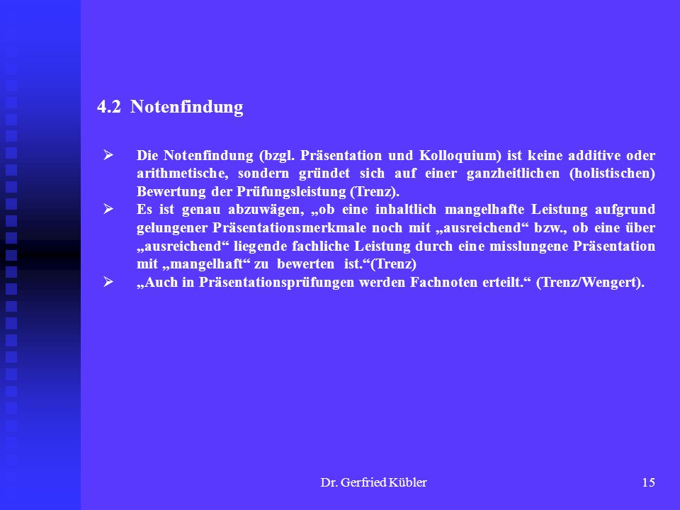4.2 Notenfindung