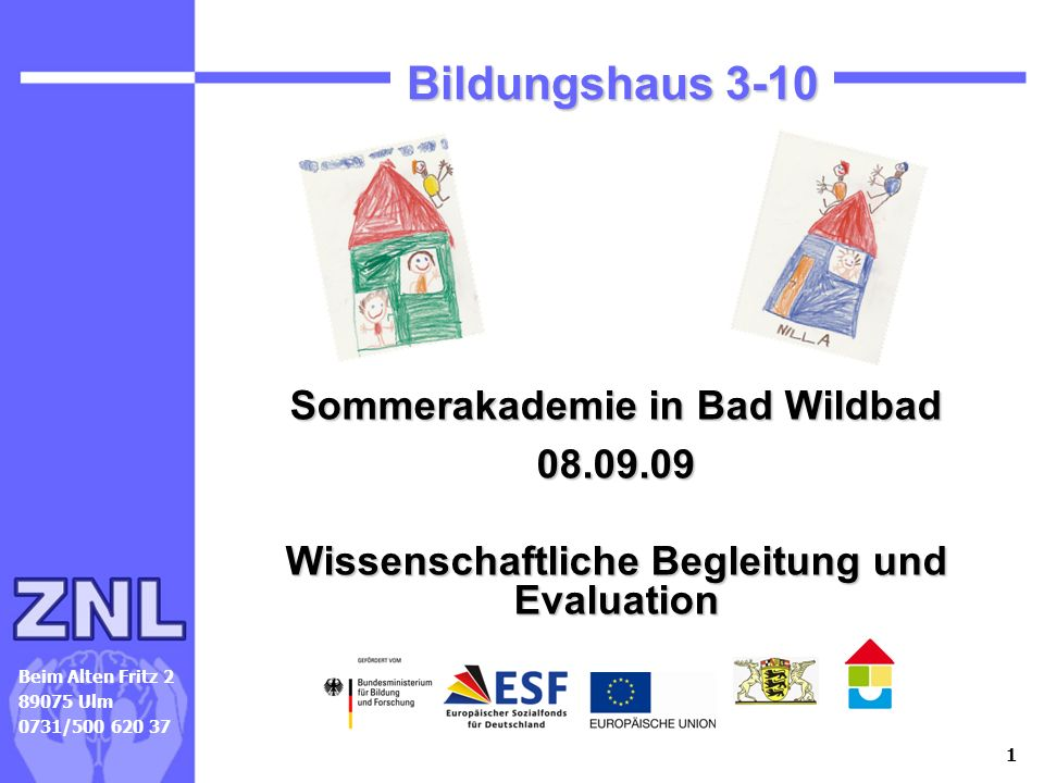Sommerakademie Bad Wildbad 2009