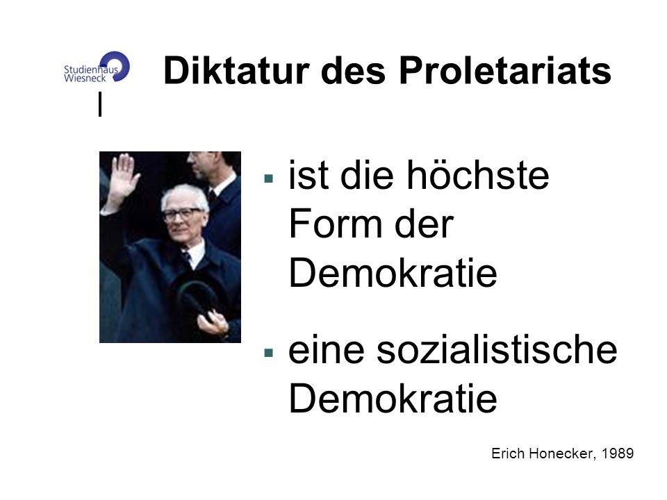 Diktatur des Proletariats