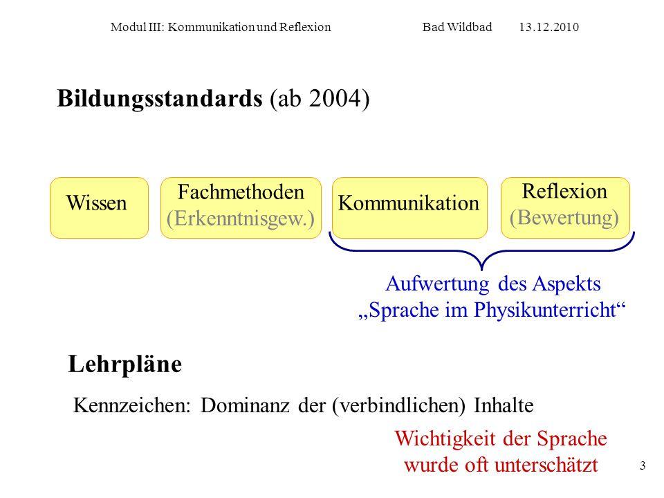 Bildungsstandards (ab 2004)
