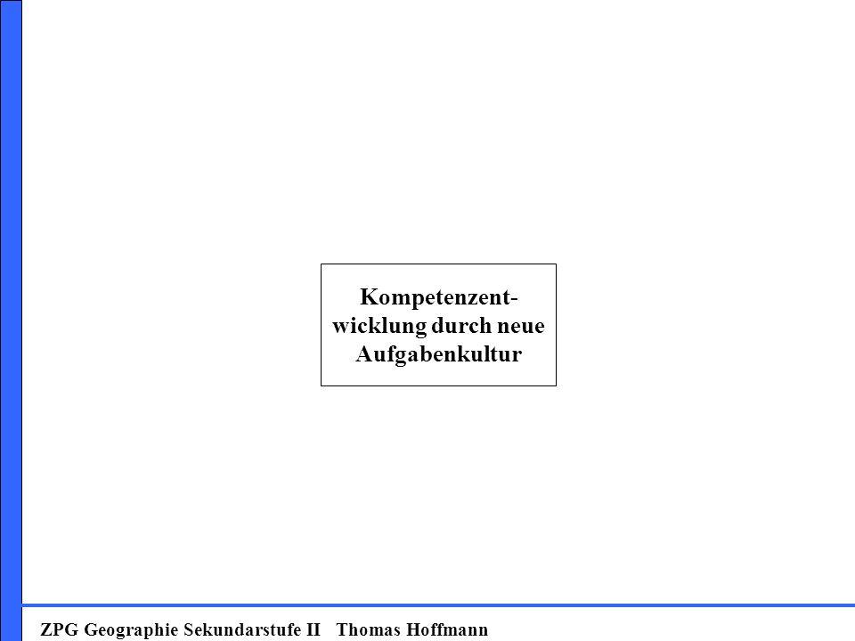 Kompetenzent-wicklung durch neue Aufgabenkultur
