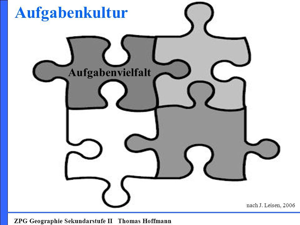 Aufgabenkultur Aufgabenvielfalt