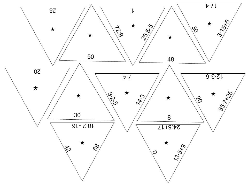 17·4 28. 1.   25:5-5. 3·15+5.  30.   72:9. 50. 48. 20. 7·4. 12·3-6.    