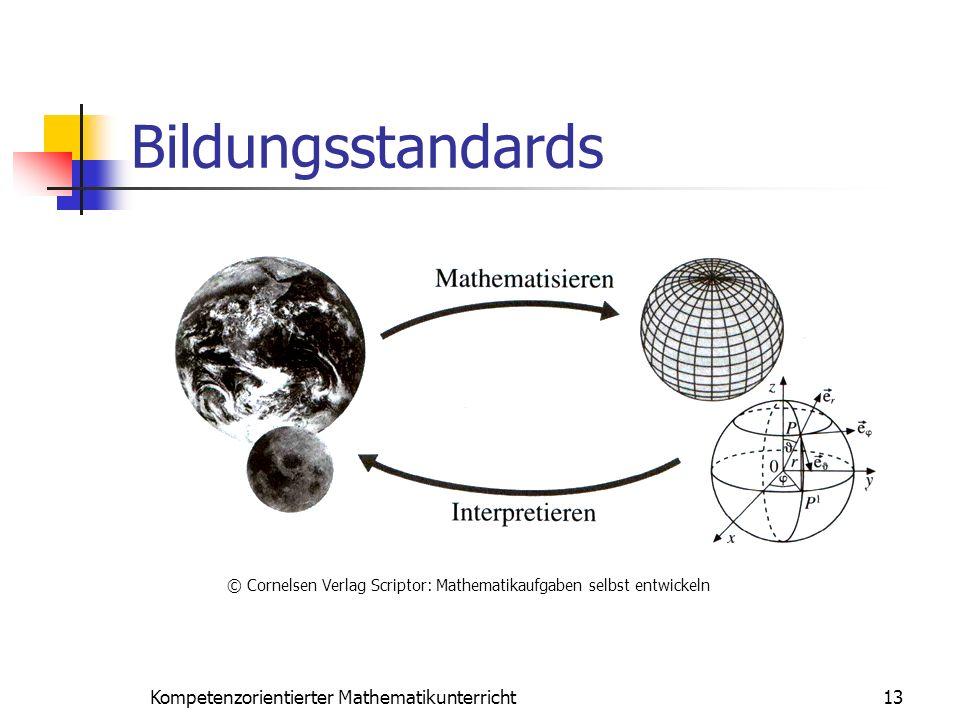 Bildungsstandards Kompetenzorientierter Mathematikunterricht 13