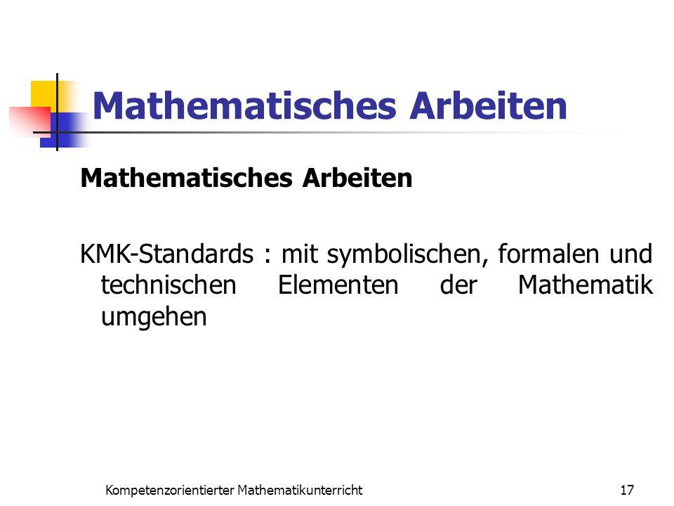 Mathematisches Arbeiten
