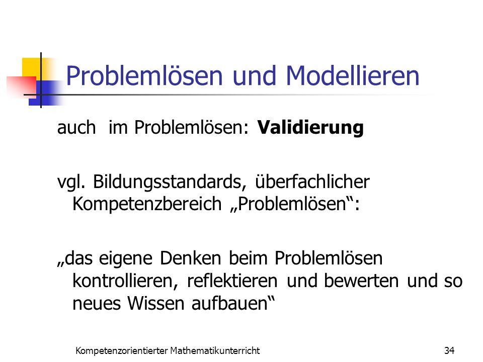 Problemlösen und Modellieren
