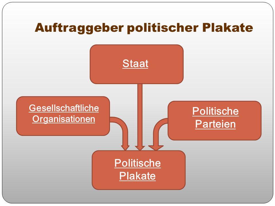 Auftraggeber politischer Plakate