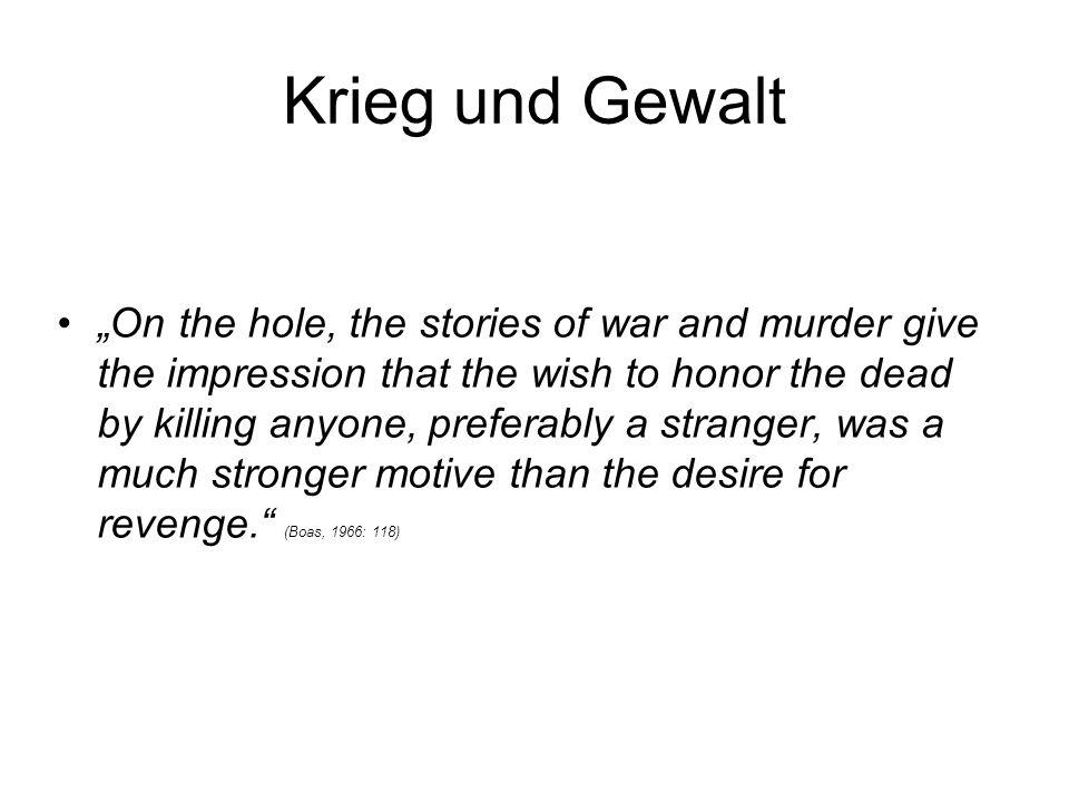 Krieg und Gewalt