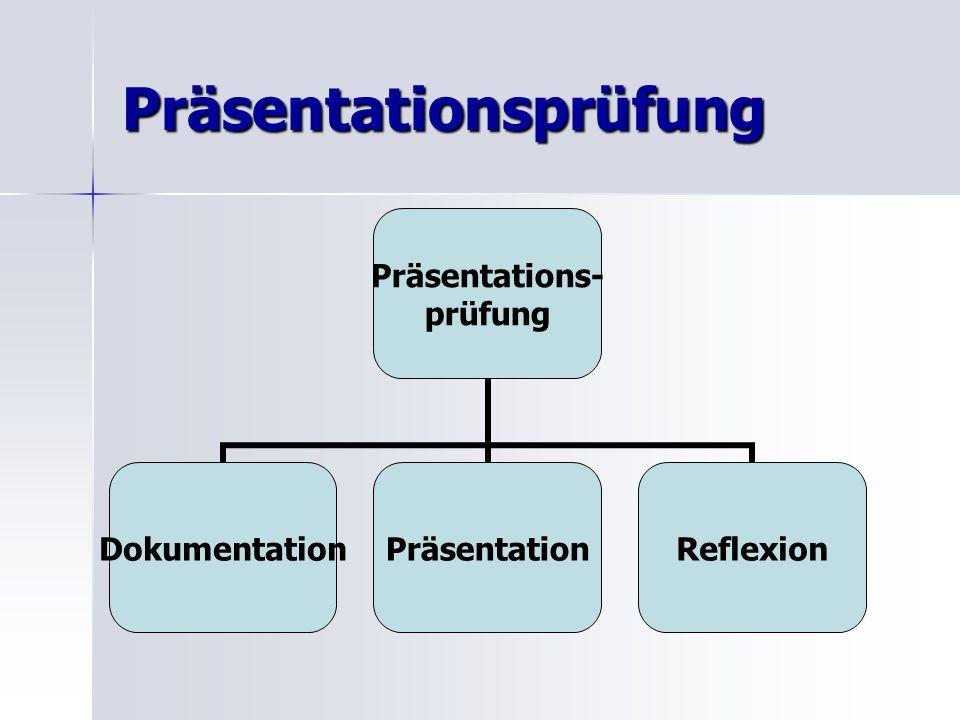 Präsentationsprüfung