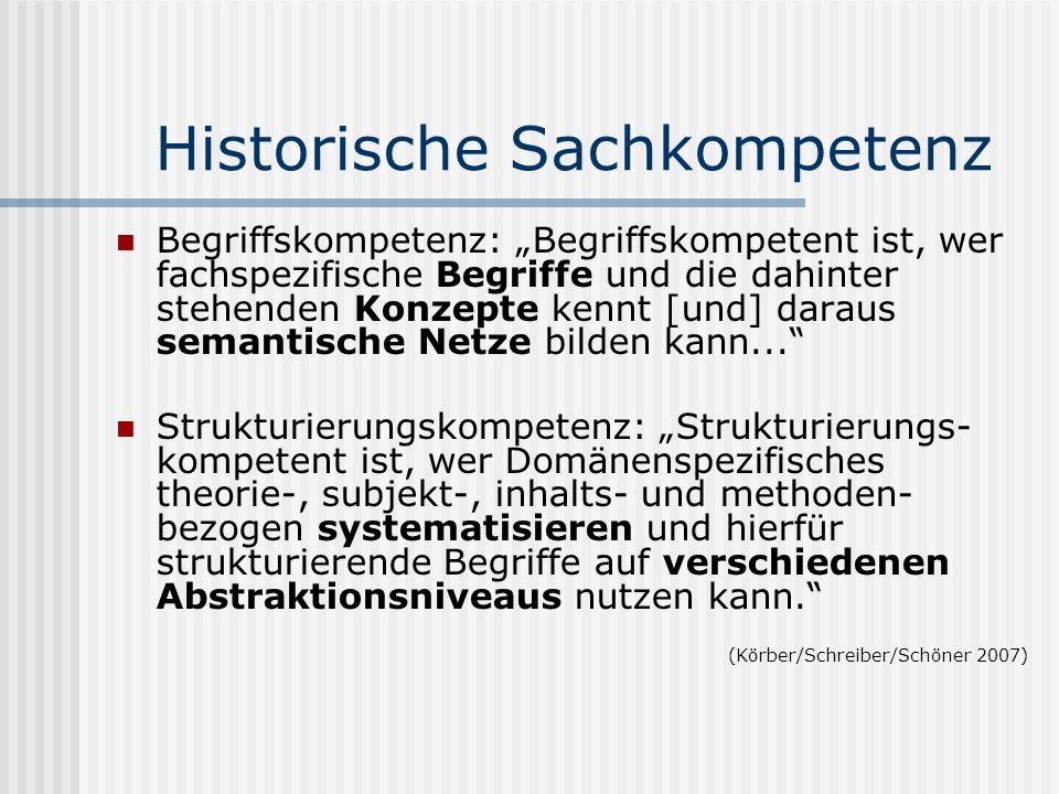 Historische Sachkompetenz
