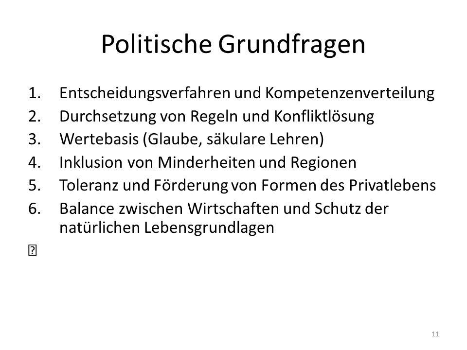 Politische Grundfragen