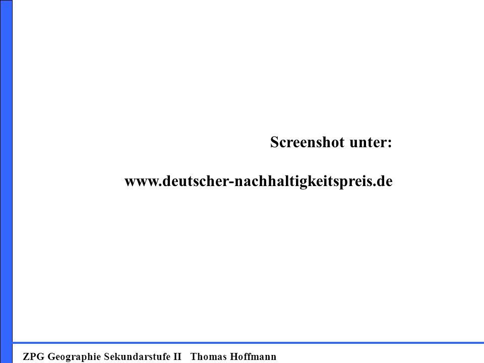 Screenshot unter: www.deutscher-nachhaltigkeitspreis.de