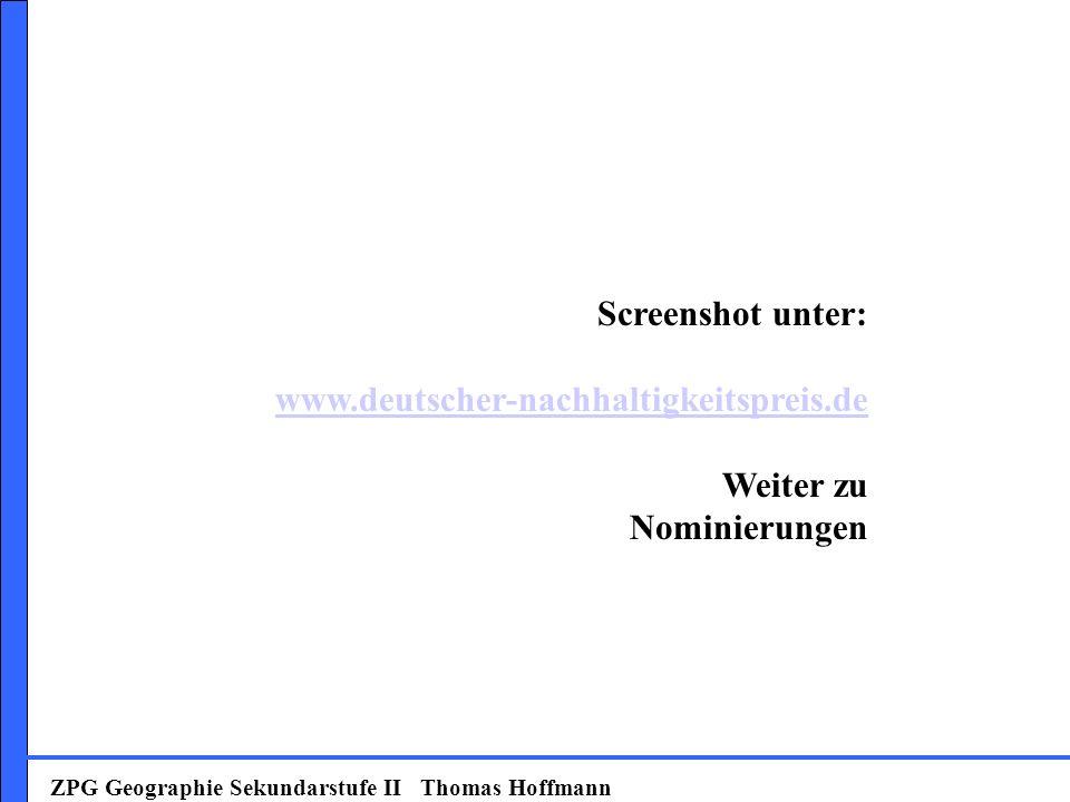 Screenshot unter: www.deutscher-nachhaltigkeitspreis.de Weiter zu