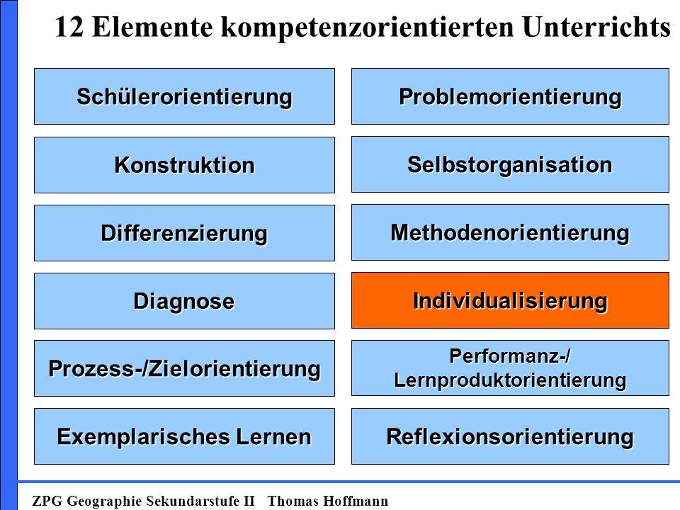 12 Elemente kompetenzorientierten Unterrichts