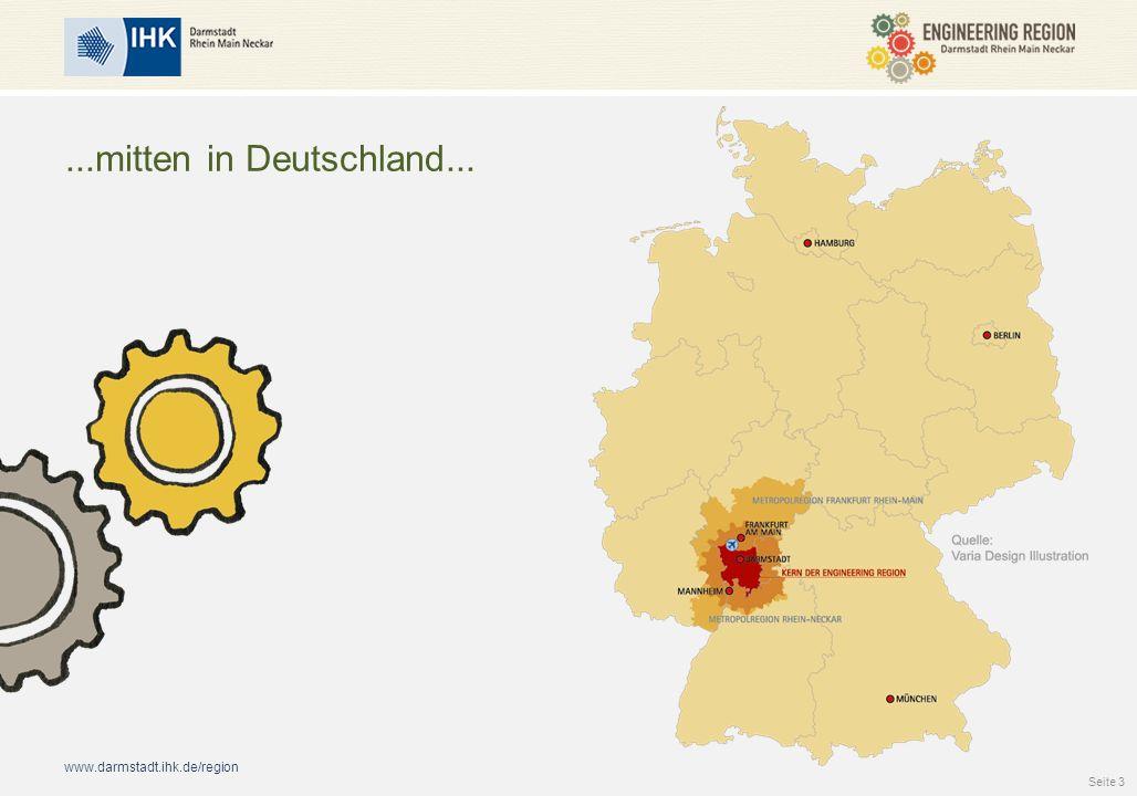 ...mitten in Deutschland... ... mitten in Deutschland...