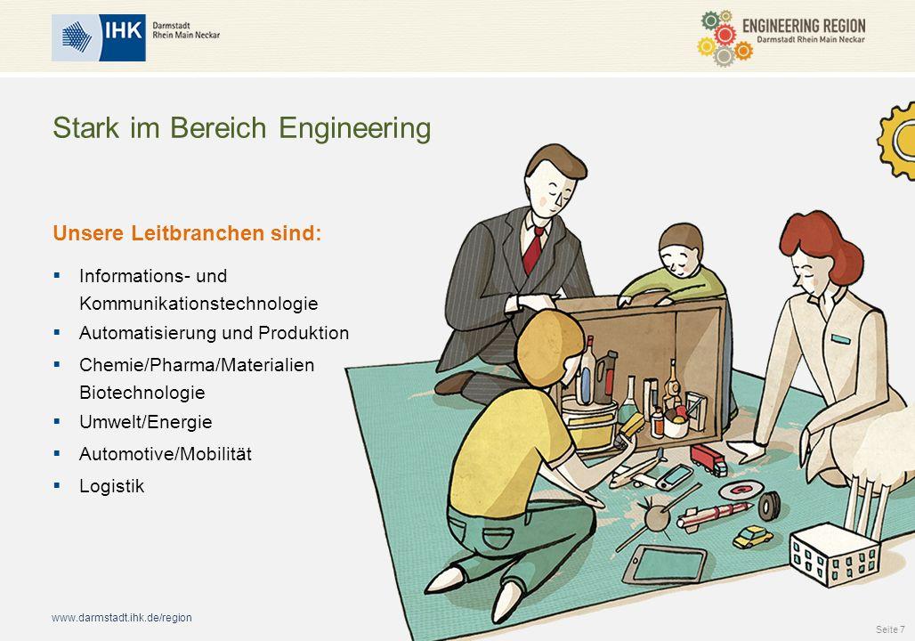 Stark im Bereich Engineering