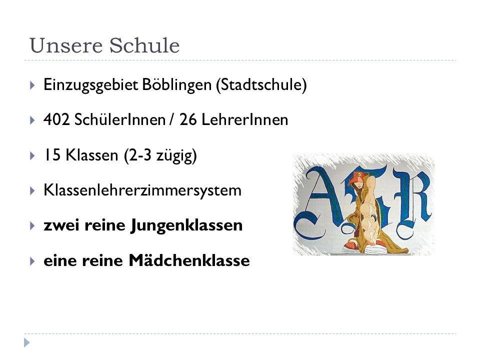 Unsere Schule Einzugsgebiet Böblingen (Stadtschule)