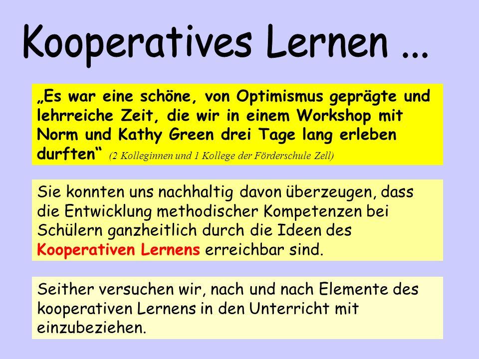 Kooperatives Lernen ...