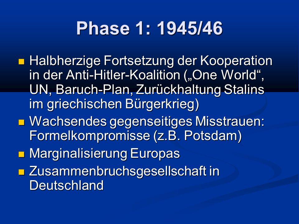 Phase 1: 1945/46
