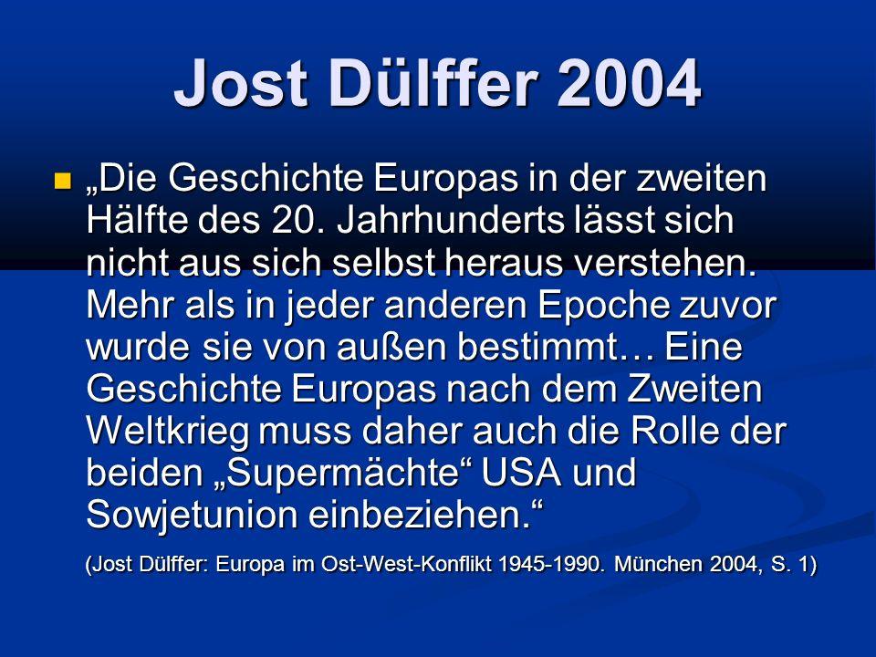 Jost Dülffer 2004