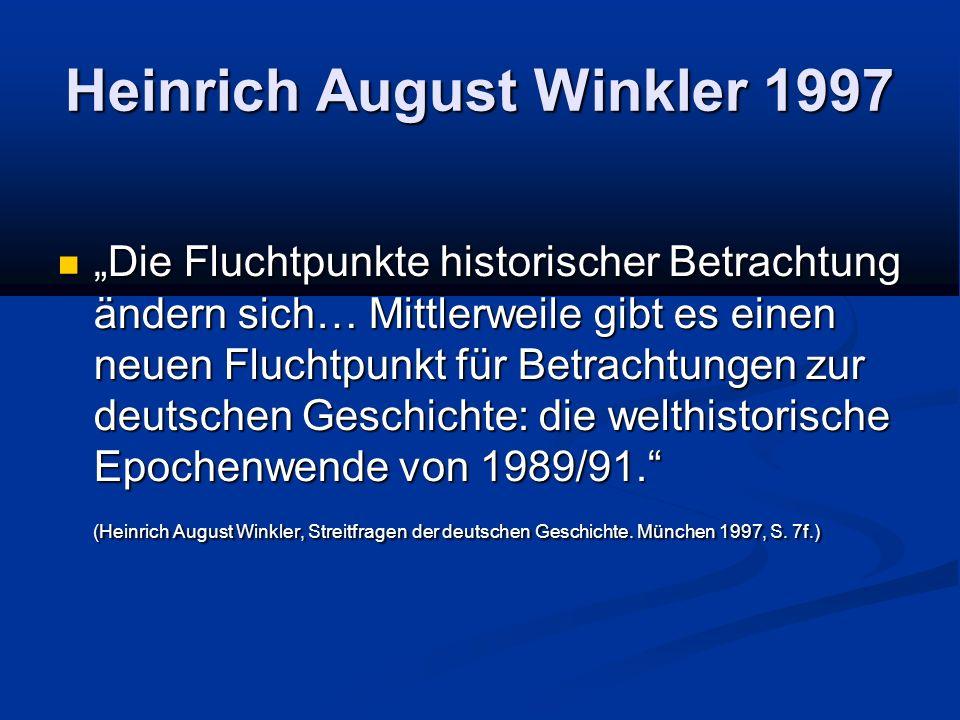 Heinrich August Winkler 1997
