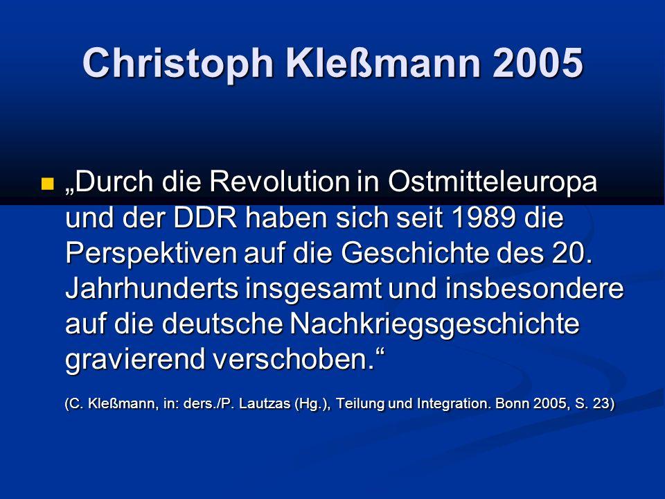 Christoph Kleßmann 2005