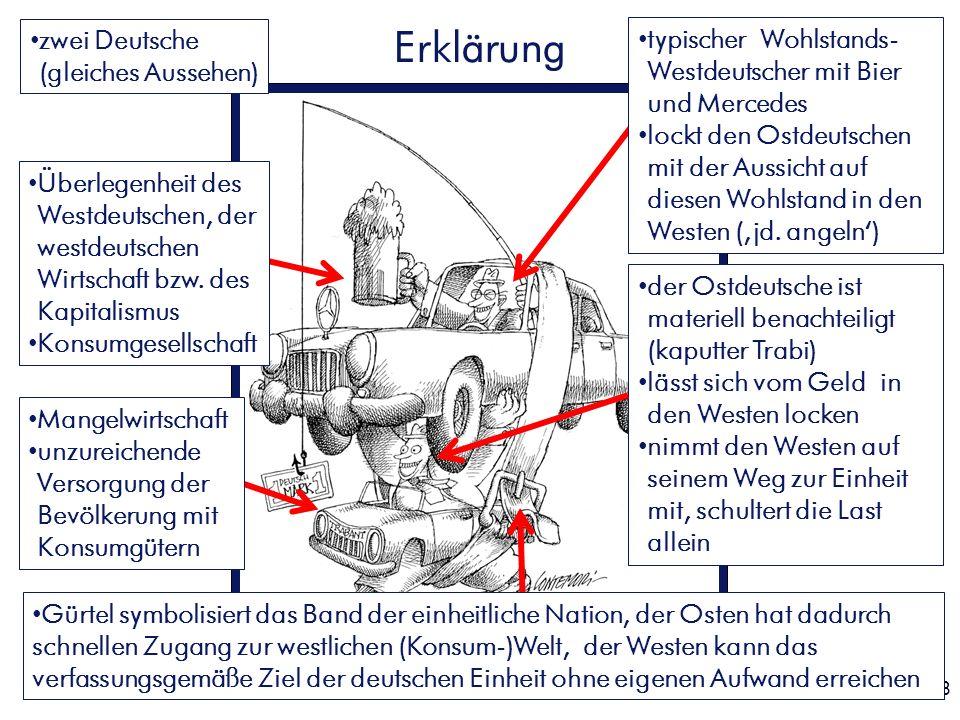 Erklärung zwei Deutsche (gleiches Aussehen)