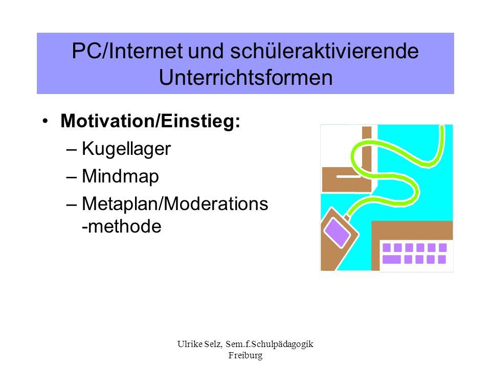 PC/Internet und schüleraktivierende Unterrichtsformen
