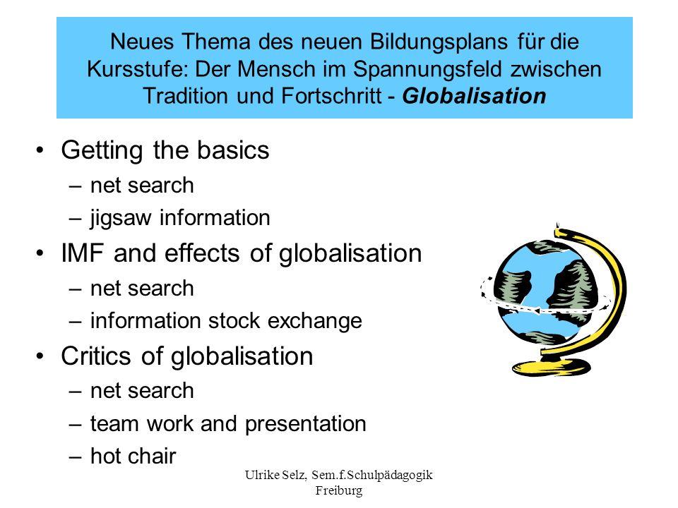 Ulrike Selz, Sem.f.Schulpädagogik Freiburg