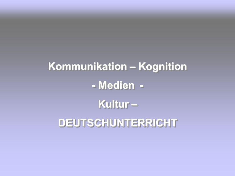 Kommunikation – Kognition