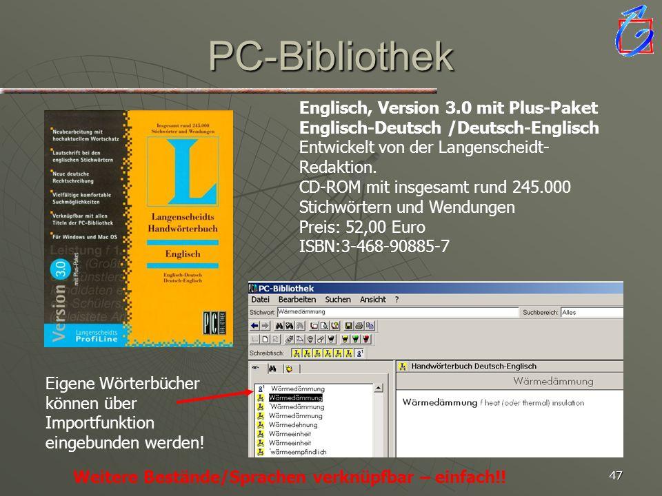 PC-Bibliothek AA : Suchen Sie nach den Begriffen: Rohbau Abschreibung