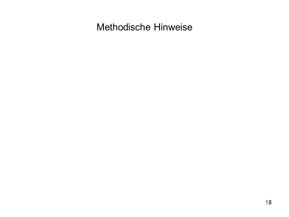 Methodische Hinweise