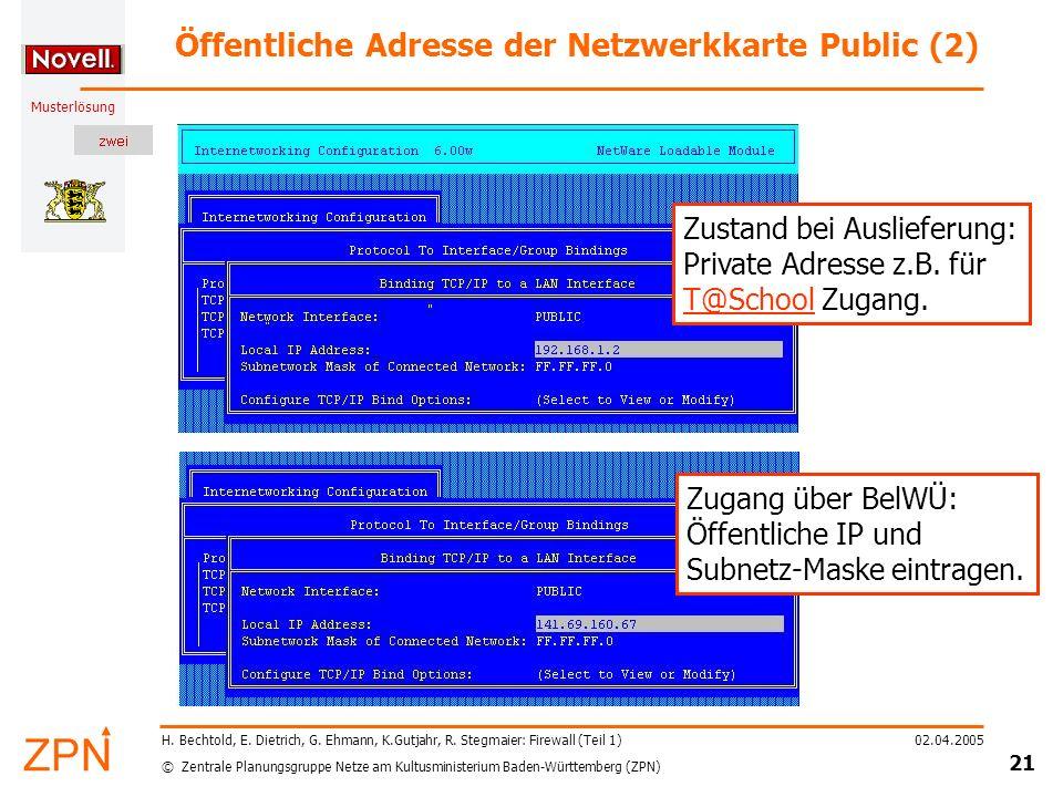 Öffentliche Adresse der Netzwerkkarte Public (2)