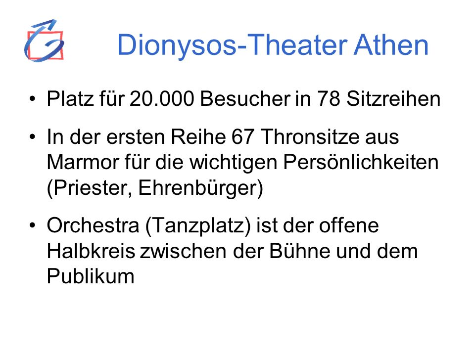 Dionysos-Theater Athen