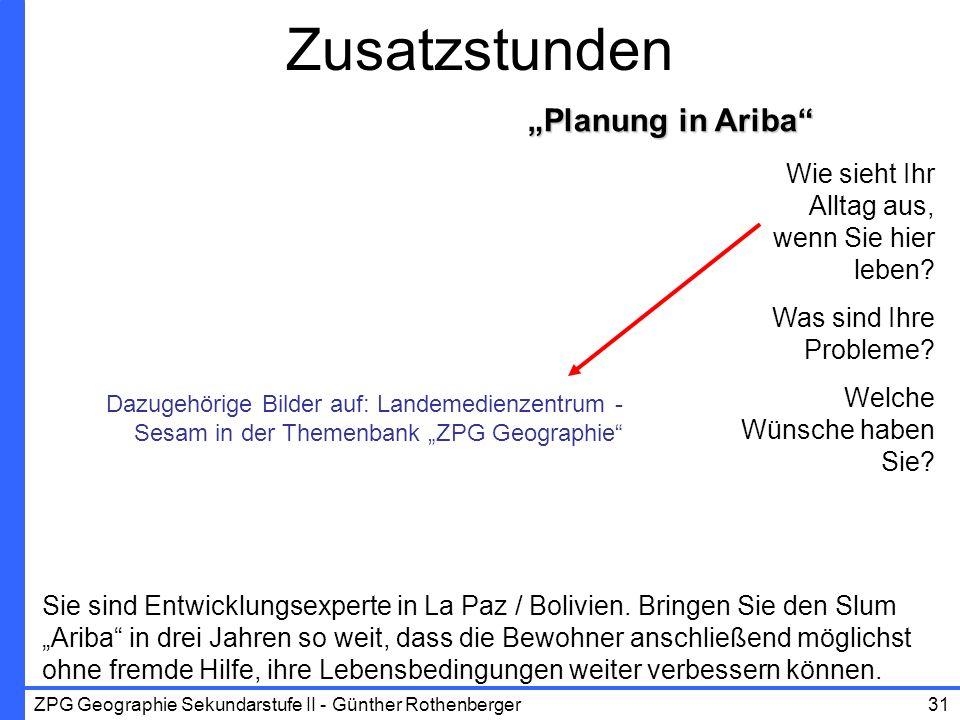 """Zusatzstunden """"Planung in Ariba Wie sieht Ihr Alltag aus,"""