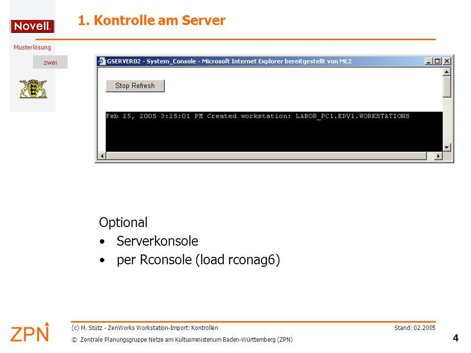 per Rconsole (load rconag6)